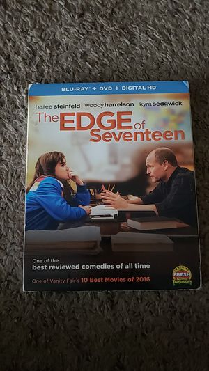 Edge of Seventeen Blu Ray w DVD for Sale in Sioux Falls, SD