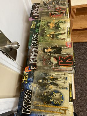 KISS old collectible action figures for Sale in Clackamas, OR