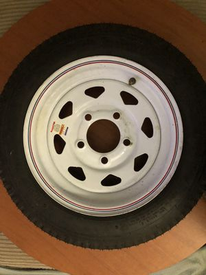 "LOAD STAR Trailer 12"" Tire+Wheel 5 lug NEW for Sale in Pembroke Pines, FL"