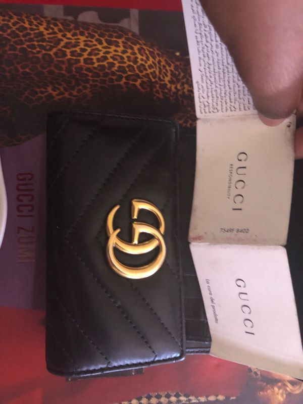 Gucci Medium Marmont 2.0 Leather Bifold Wallet