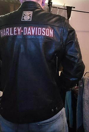 XL 100% Leather Authentic Harley Davidson Riding Jacket for Sale in Denver, CO