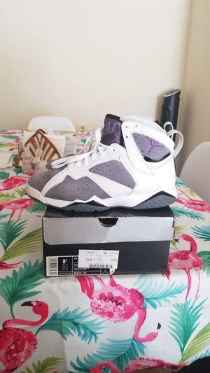 Jordan 7 retro flint purple size 8.5 for Sale in Adelphi, MD