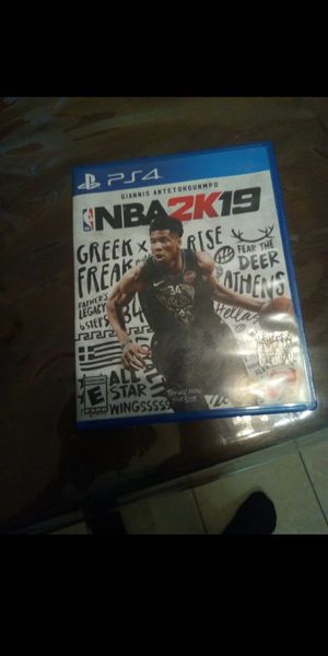 NBA 2k19 for PlayStation 4 for Sale in Rowland Heights, CA