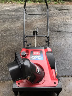 TORO CCR 3650 6.5 hp START AT FIRST PULL VERY GOOD CONDITION for Sale in Downers Grove, IL