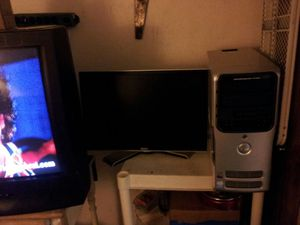 Dell dimension 5150 w/ flat screen monitor mouse and keyboard for Sale in US