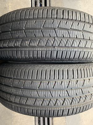 (2)235-55-19 PAIR OF USED TIRES CONTINENTALS for Sale in Los Angeles, CA
