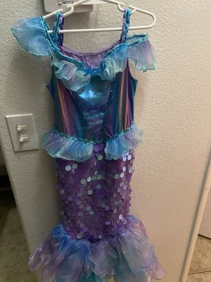 Mermaid dress size s girl , like for 7 years old for Sale in Fort McDowell, AZ
