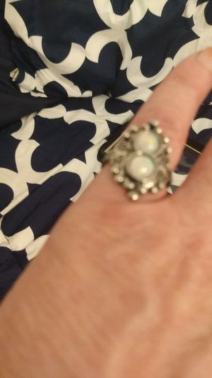 Faux moonstone pinky ring. for Sale in CRYSTAL CITY, CA