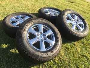 🇺🇸🔥 2018 FORD F150 OEM WHEELS/RIMS WITH GOODYEAR TIRES🔥🔥🇺🇸 for Sale in Hayward, CA