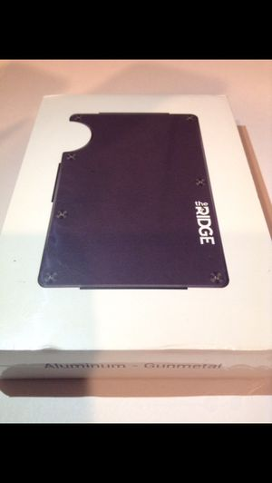 Brand New- The Ridge Aluminum Metal Wallet- In Original Packaging & Sealed- High Quality! for Sale in Fairfax, VA