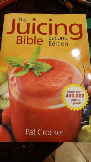 The juicing bible for Sale in Southington, CT