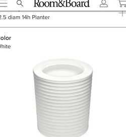 Plant Pot (Room & Board) for Sale in Washington,  DC