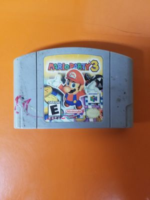 Mario Party 3 for Nintendo 64 for Sale in Brooklyn, NY