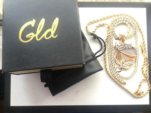 GLD jewelry Rolling Loud Pendant 2 chains,bag and travel Box for Sale in Kirkwood, MO