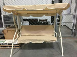 Porch Swing- Cream for Sale in Tolleson, AZ