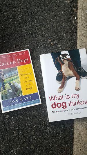 Dog training books for Sale for sale  Edison, NJ
