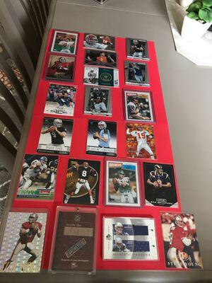 NFL Quarterbacks & Double Jersey Worn Card. for Sale in Tumwater, WA
