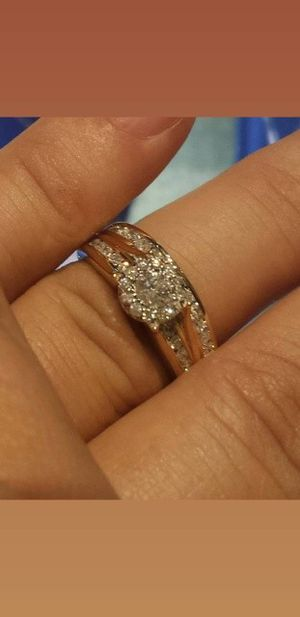 Beautiful Wedding Ring Set for Sale in Modesto, CA