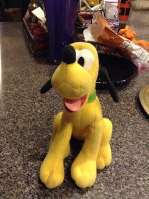 Disney's Pluto stuffed character for Sale in Peoria, AZ