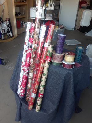 Wrapping paper and ribbon for Sale in Goodyear, AZ