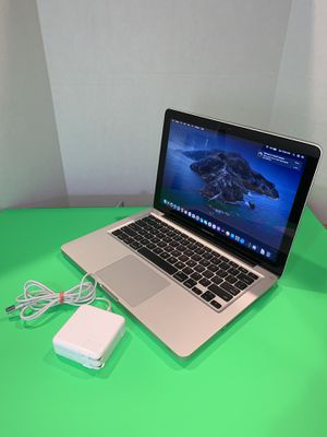 2012 Apple MacBook Pro / Core i5 / 1TB / 12GB / Battery / Charger / OSX Catalina / Office 2016 for Sale in Miami, FL
