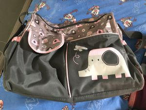 Pink elephant diaper bag for Sale in Whittier, CA