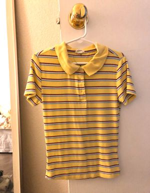 Yellow Striped shirt for Sale in Centennial, CO