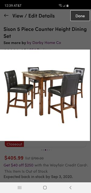 kitchen dining table set for Sale in Sunnyvale, CA