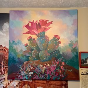 Southwestern Style Cactus Painting ORIGINAL for Sale in Columbus, OH