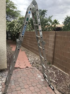Werner 14 Ft Folding Ladder for Sale in Las Vegas, NV