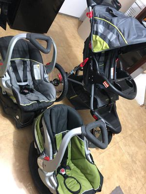 Baby stroller and 2 car seats with base for Sale in New Orleans, LA