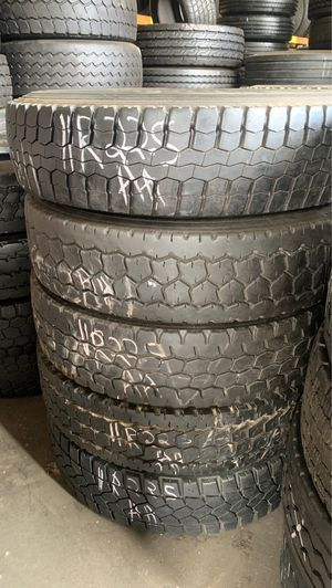Used tires 11R22.50 for Sale in Raleigh, NC