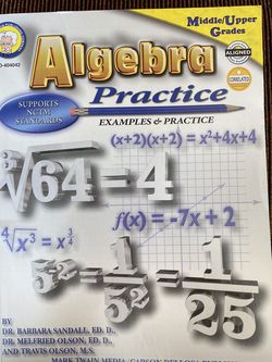 Algebra Practice Book for Sale in Winter Garden,  FL