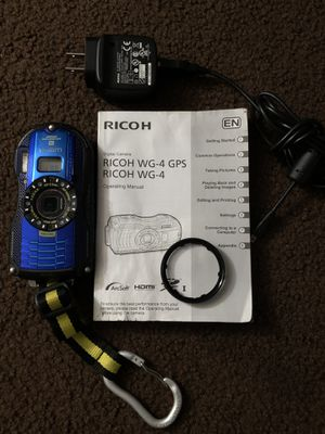 Ricoh WG-4 waterproof adventure camera for Sale in San Luis Obispo, CA