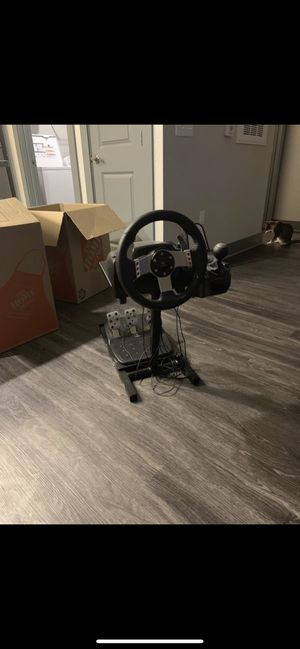 Logitech G27 racing wheel for Sale in Pinellas Park, FL