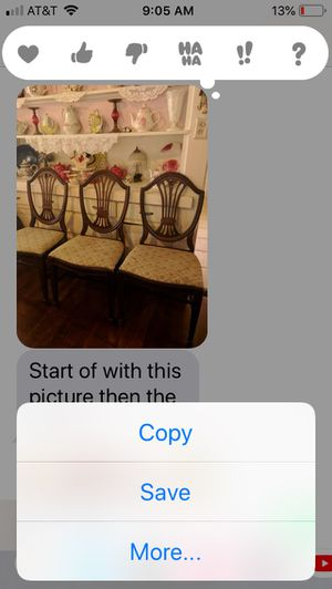 3 Duncan antique chairs, rare to find these for Sale in Fullerton, CA