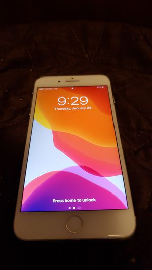 Apple Iphone 8 plus White 64gb (unlocked carrier) for Sale in La Mesa, CA