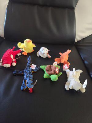7 Teenie Beanie Babies w tags for Sale in Phoenix, AZ