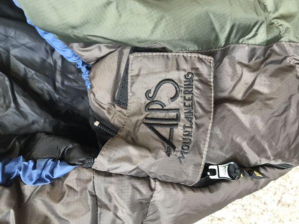 Sleeping bag, Alps Mountaineering desert pine +20 degrees