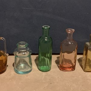 Various Small Antique Colored Bottles for Sale in Clifton, NJ