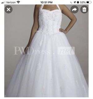 David's Bridal Wedding Gown Dress for Sale in Raleigh, NC