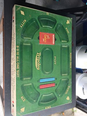Game Tripoley Board game 1968 a Cadaco game for Sale in St. Cloud, FL