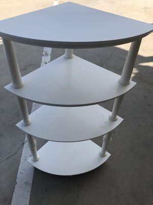 Corner shelf unit (wood) for Sale in Riverside, CA