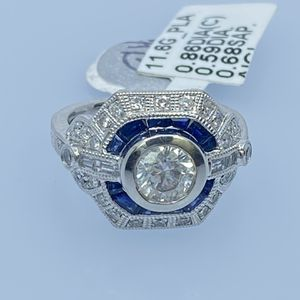 Solitaire Ring With Sapphire for Sale in Miami, FL