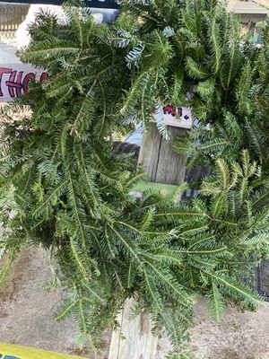 "Fresh ,natural, homemade Xmas wreaths smell amazing 32"" for Sale in Weston, FL"