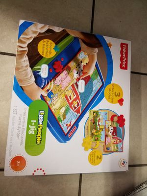 Fisher price audible puzzle games for Sale in Denver, CO