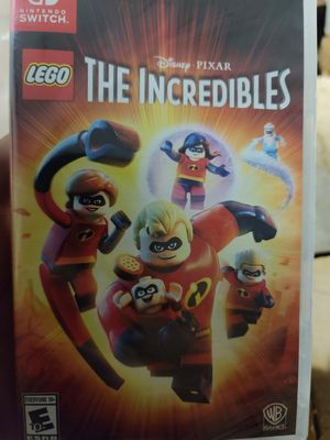 LEGO The Incredibles for Nintendo switch for Sale in San Bernardino, CA
