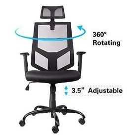 We Deliver! Ergonomic Mesh Computer Office Chair with Adjustable Headrest/Neck Support for Sale in Santa Monica, CA