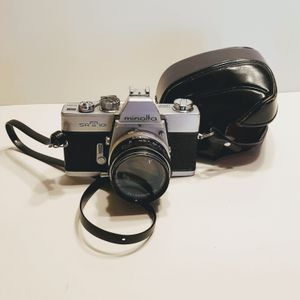 Minolta SRT101 w MC Rokkor-PF 55mm f1.7. Made in Japan. Vintage. for Sale in San Jose, CA