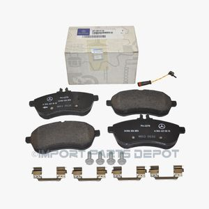 Mercedes Front Brake Pads Pad Set Genuine OE 0075720 + Sensor 21117(new in box) for Sale in San Francisco, CA